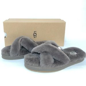 UGG ABELA WOMEN'S INDOOR AND OUT OPEN TOE SLIPPERS